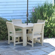 Patio 5 Piece Square Dining Set on Sale